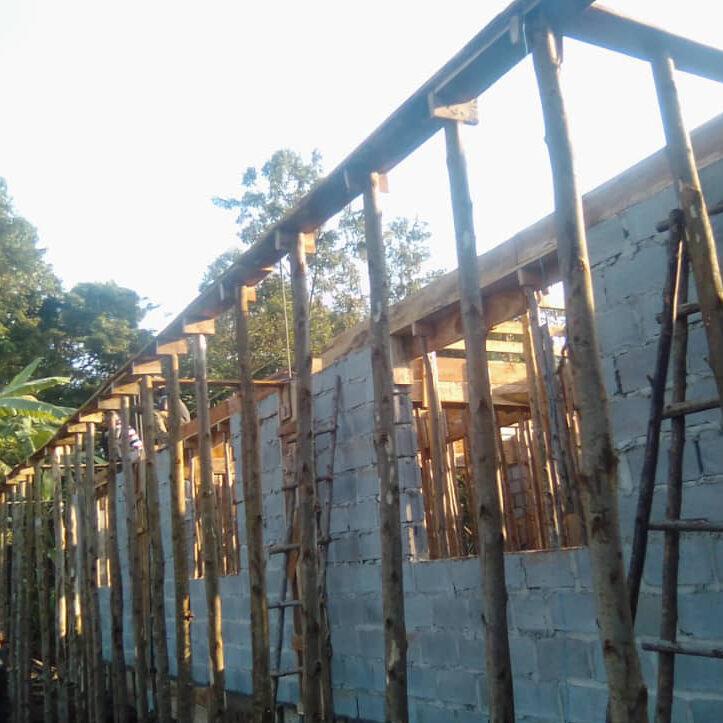 girls dorm being built